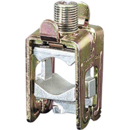 HENSEL KS185 Sammelschienenklemme, 630A, 185mm², 10/20-30mm, B38mm, Flachschiene, geeignet für Rundleiteranschluss