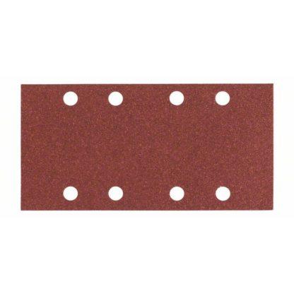 10er-Pack Bosch Schleifblatt C430, 93 x 186 mm, K 80, 8 Löcher