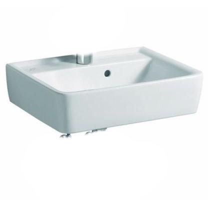 KERAMAG RENOVA Nr.1 PLAN Handwaschbecken 500 x 380 mm, mit Hahnloch und Überlauf