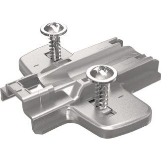 Hettich Kreuzplatte System 8099 Sensys STA vernickelt 0mm