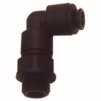 RIEGLER Winkel-Einschraubverschraubung 110294 G 3/8 a. für Schlauch-Außen 8mm