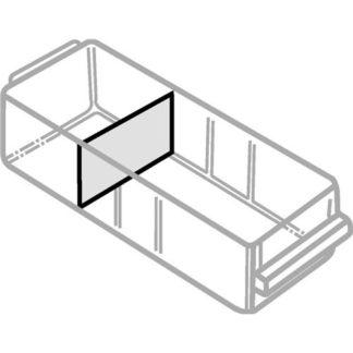 raaco Trennwandsortiment 16tlg. B.135xH.57mm f. Schublade Typ A klar 16X 57×135