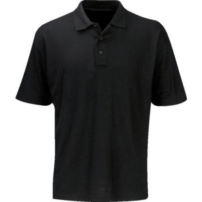 SITESAFE T-Shirt Polo Shirt Unisex schwarz Größe XL kurzarm