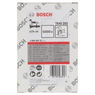 Bosch Klammer TK40 20G, 1,2 mm, 20 mm, verzinkt, teilweise gebrochene Reihen