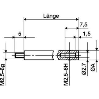 HAZET SYSTEM-KABEL-Entriegeler 4672-2 Entriegelungs-Werkzeug