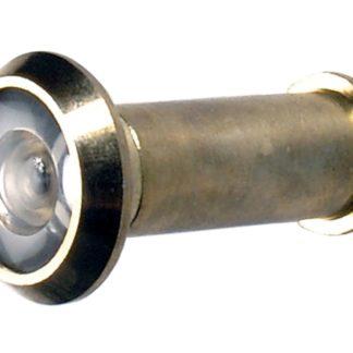 BGS Türspion | Messing poliert | Ø 14 mm 8090  für Türblätter von 35 – 57 mm