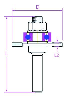 PROJAHN Scheiben-Nutfräser mit Aufnahme D 40 mm, L 59 mm, L2 3 mm