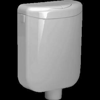 TOTO Pagette ecoNom WC-Spülkasten 79506-0110  2-Mengen manhattan-grau CPA68ME