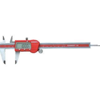 KENNEDY Digitaler Messschieber 0 – 150 mm rot Stahl/Kunststoff KEN3312260K