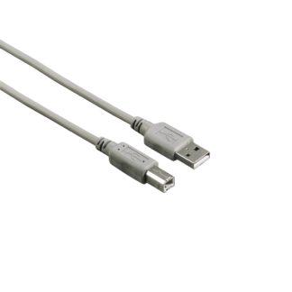 Hama USB-Kabel TYP A-B, 5 Meter 29195