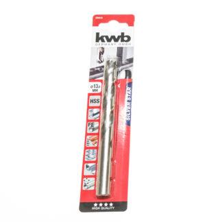 KWB HSS-Spiralbohrer Silver Star Ø 13,0 mm, 135°, rechtsschneidend 206630